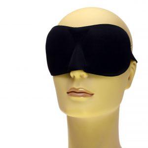 Drukvrij – Zwart Slaapmasker
