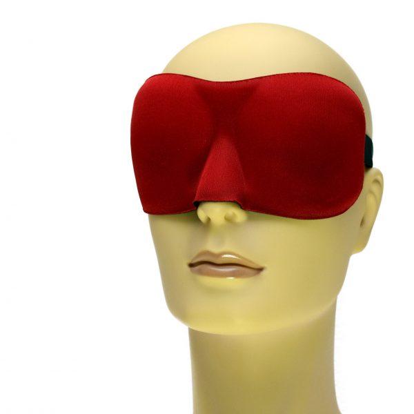 Rood slaapmasker