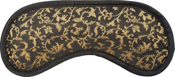 A-1046-Slaapmasker-Goud-Ornamenten